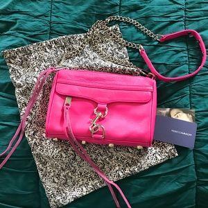 Rebecca Minkoff Bright Pink Mini Mac